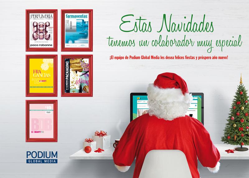 Felicitación de Navidad de parte de Podium GM