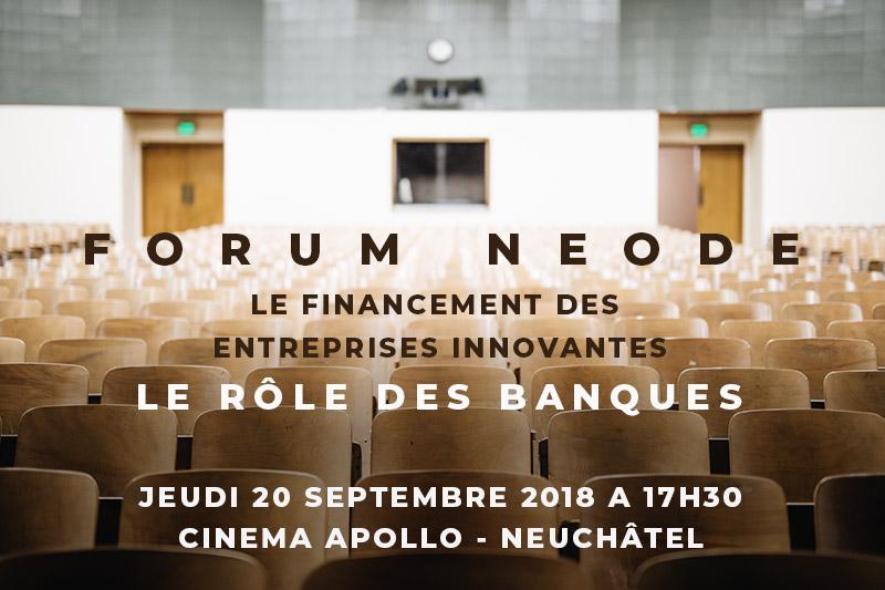 Forum neode-le role des banques