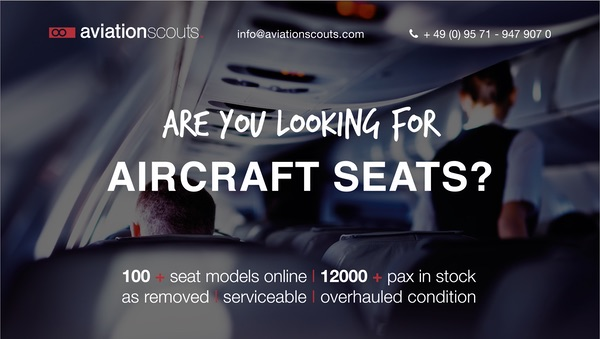Looking for aircraft seats