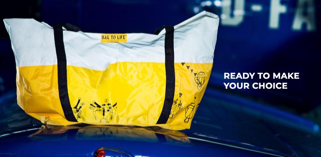 bag to life Airlie Beachbag