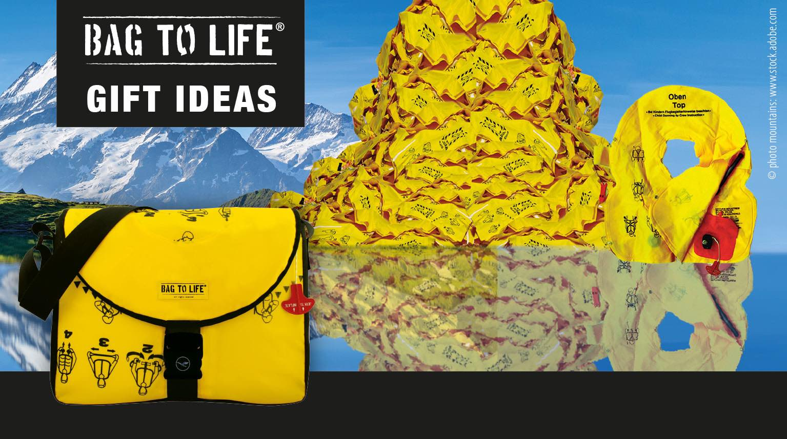Sustainable Xmas presents with Bag to Life