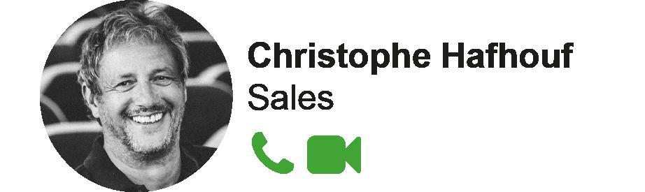 Contact Christophe Hafhouf