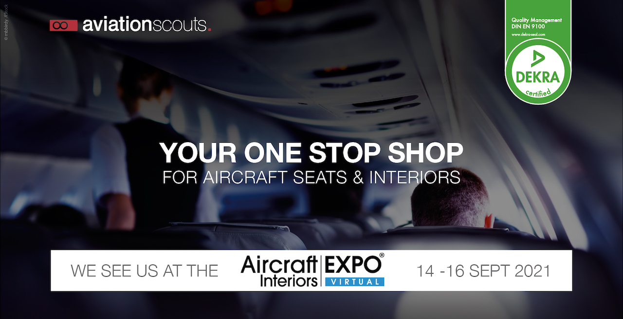Join the virtual Aircraft Interiors EXPO!