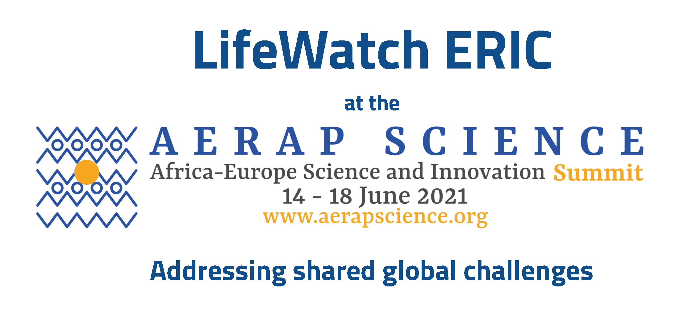 LifeWatch ERIC at the AERAP Science Summit