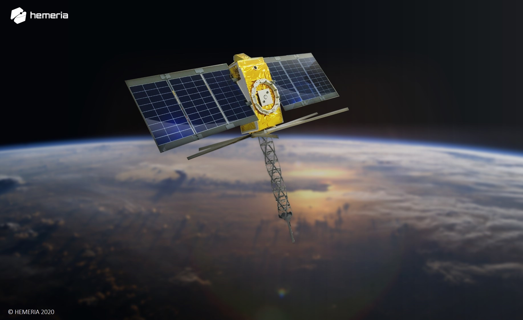 Kinéis' nanosatellite