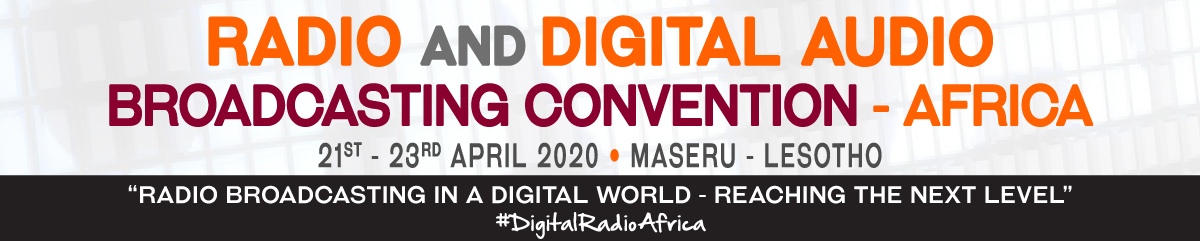 Register To Attend The Radio And Digital Audio Broadcasting Convention