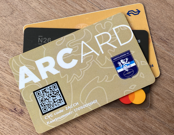 ARCard cashloos betaalsysteem
