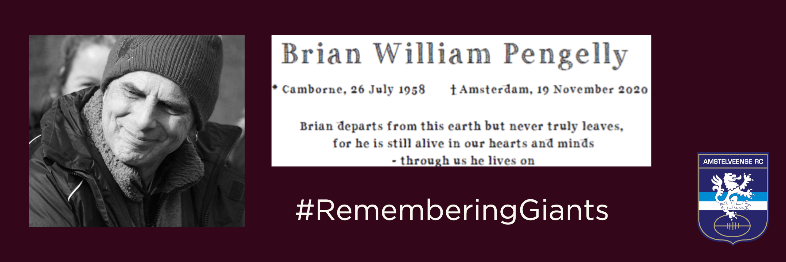 Brian Pengelly in memoriam