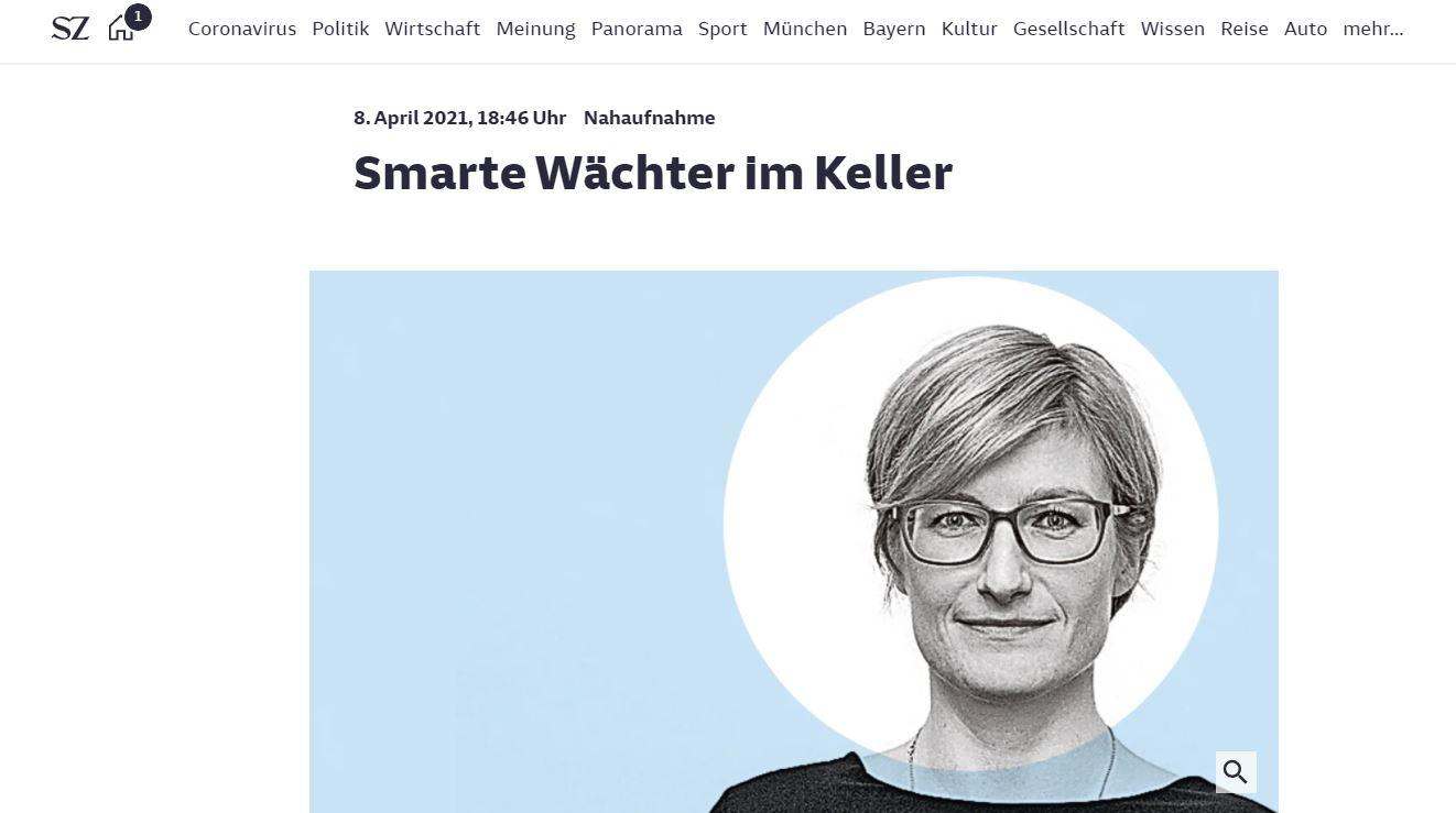 Porträt über Dr. Franka Birke in der Süddeutsche Zeitung.