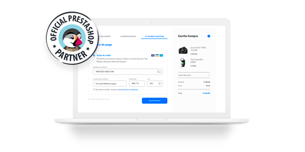 Checkout PAYCOMET y Prestashop